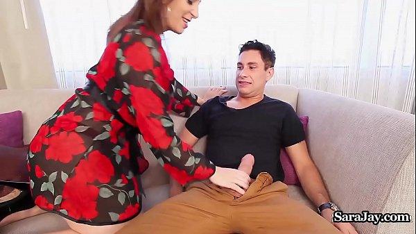 Busty Principal Sara Jay Disciplines Teacher With a Fucking!