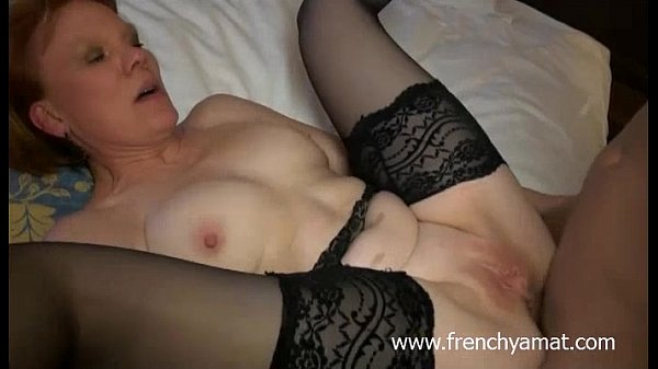 Frenchy Amat: Two Cocks For A Horny French Mature