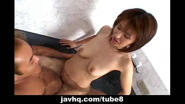 Asian slut getting fucked deep and hard by her man