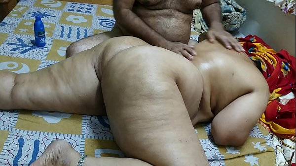 50 YEAR OLD INDIAN  STEP MOM FULL BODY MASSGE BY HER YOUNG 40 YEAR OLD STEP SON Thumb