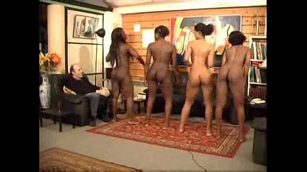 nude black haired indian girl dancing