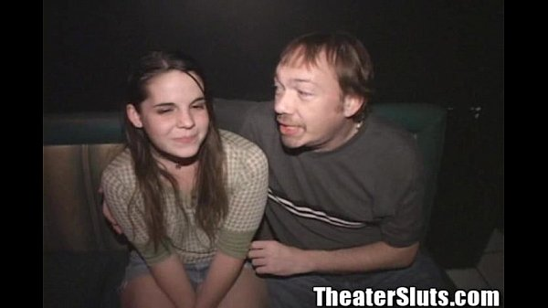 Theater Slut April Hippie Girl Public Group Sex Bang Thumb