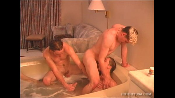 Twinks Adam and Jaison Double Penetrate Troy