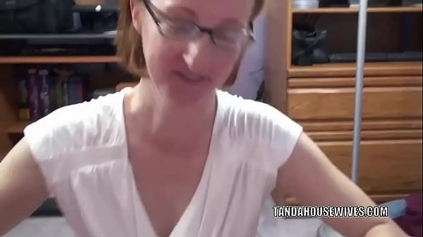 Redhead MILF Layla Redd is on her knees to swallow a cock