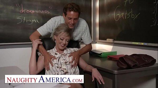 Naughty America - Dee Williams fucks her student