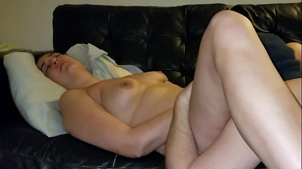 Slutwife makes hubby lick her pussy clean then ...