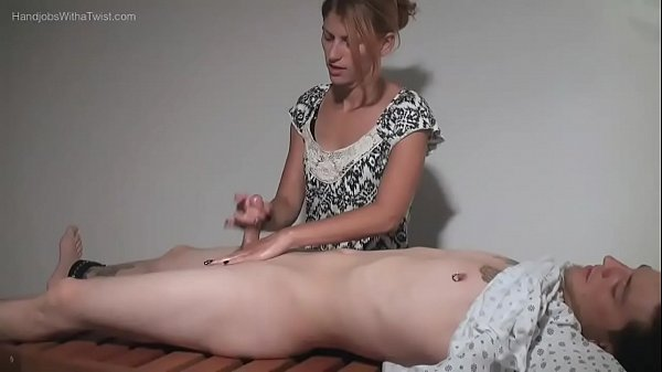 Amatuer Handjobs - Teasing Massage Gal Makes Small Penis Spray Wildly