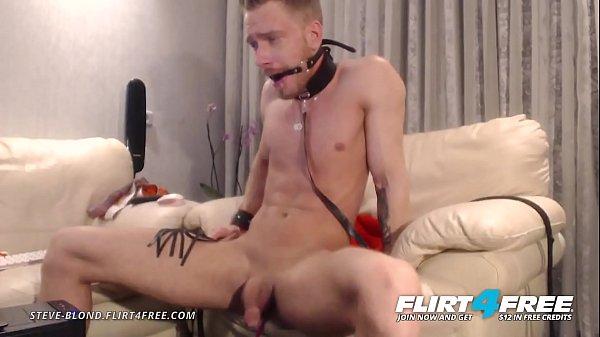 2018-12-04 02:01:09 - Steve Blond - Flirt4Free - Hot Euro Stud Tortures Himself in Bondage 16 min  HD+ http://www.neofic.com