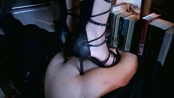 Domestic Trampling with Different Shoes (Stomach Demolition) Thumb