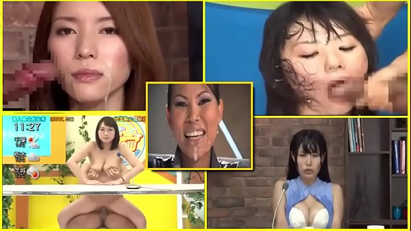 BUKKAKE JAPANESE TV NEWSREADERS,PRESENTERS, FACIAL CUM - 1