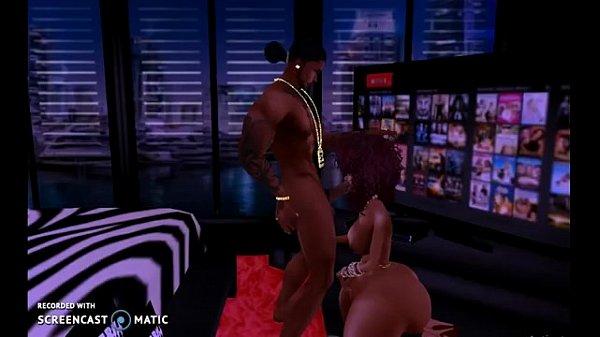 Шикарная мастурбация с большой попой