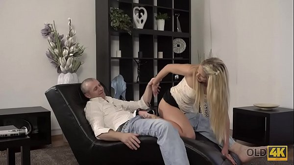 OLD4K. Hot sex of old and young lovers finishes with great creampie