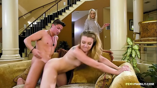 Mom is watching stepdaughter fucked - Ashley Manson, Maxim Law Thumb