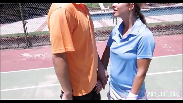 Cute Teen Fucked By Coach Thumb