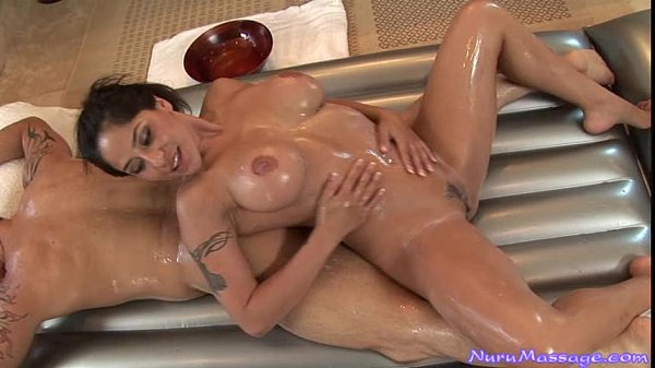 Jenaveve Jolie Gives a Nuru Massage Thumb