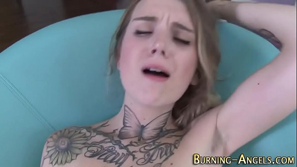 Goth whore pov sucking