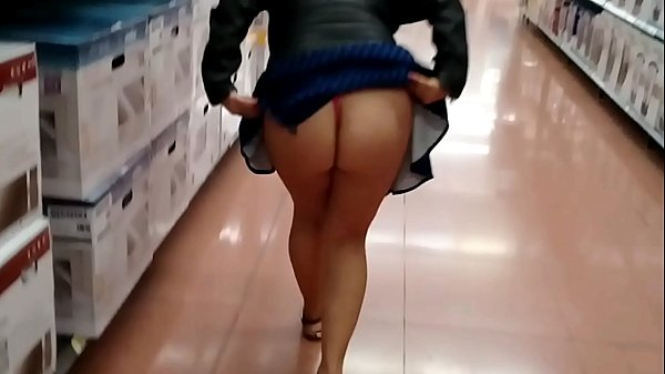 exhibit my ass in walmart follow me on twitter @Foxxxyhot69 (Full video on XVIDEOS.RED) Thumb