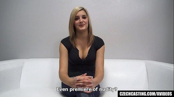 Busty Czech Cheerleader at First Interview Thumb