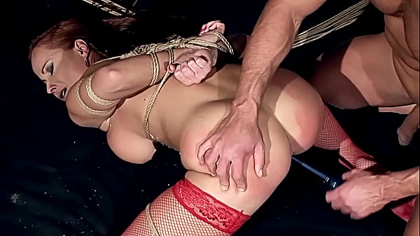 Gorgeous milf woman, Kathy Parker, with natural big boobs, trained to be sex slave, and fucked hard with big thick dick. Part  3. Thumb