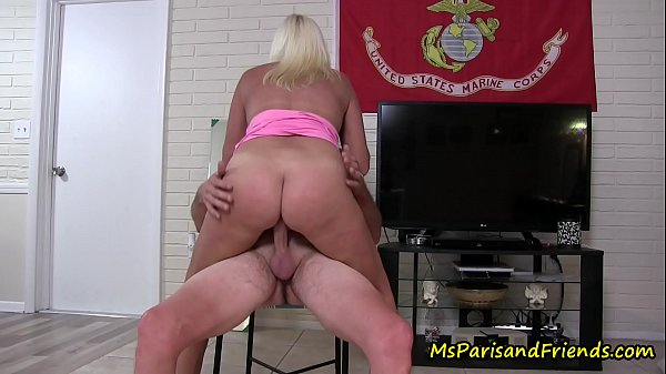 Horny Housewife Masturbates Then Wants to Fuck