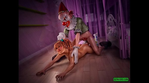Under the Bed. Evil Clown 3D