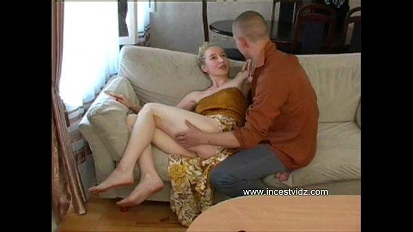 Sexy skinny blonde mom