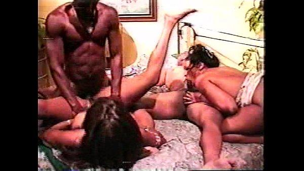 Classic Tony Eveready scene 2 - anal foursome f...