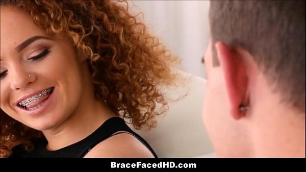 Ebony braces porn