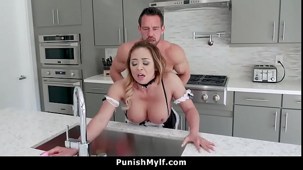 Asian Maid Got Spanked and Fucked By Her Owner