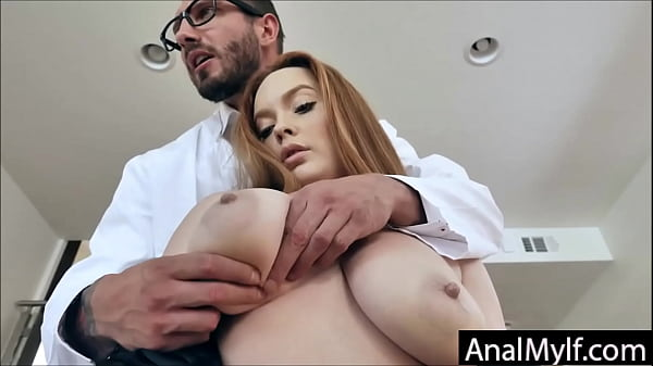Doctor inspects Milfs Asshole Thumb