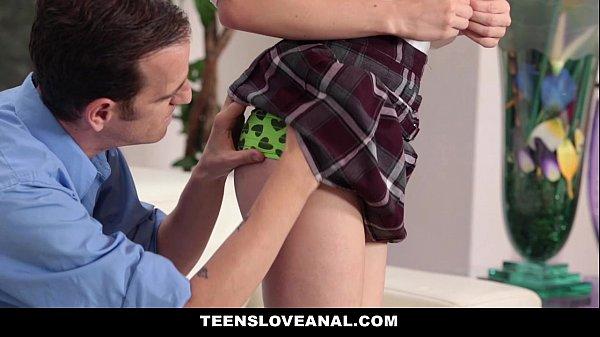 TeensLoveAnal - Redhead (Alice Green) Tries Anal Sex