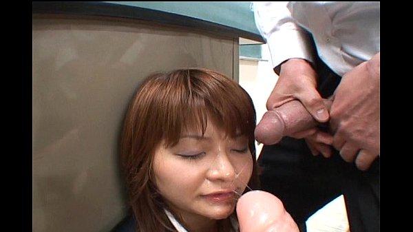 Japonés av bukkake kogal mamada