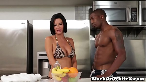 Image Interracial analized milf riding stepsons BBC