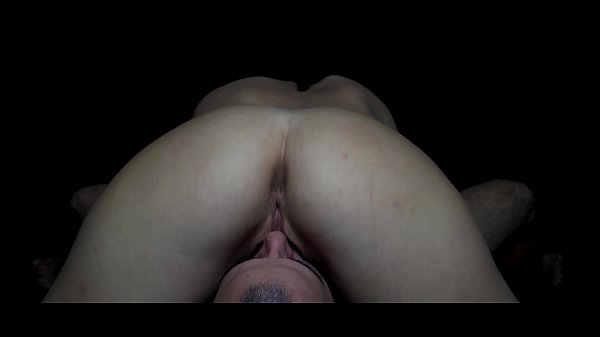 POV closeup eating her pussy in 69 position