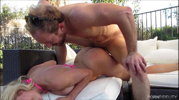 Cherie Deville Gets Her Pussy Pumped By Big White Cock