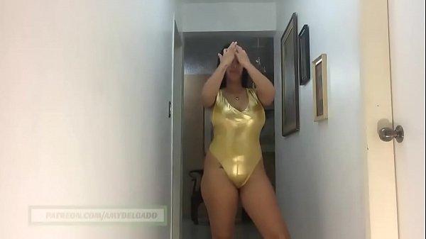 Big but golden bikini