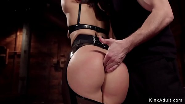 Perfect ass slave anal fucked in bondage Thumb