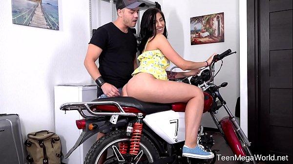Anal-Beauty.com - Henna Ssy - Cutie opens ass to a badass biker