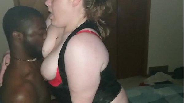 Sexy Milf Eva fucks bbc gets creampie while husband watches