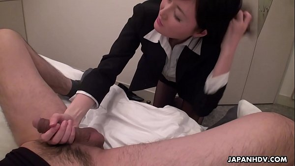 Japanese office lady, Emi is sucking dick, uncensored Thumb