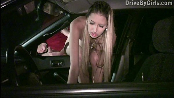Extreme PUBLIC sex car window gangbang with Kitty Jane