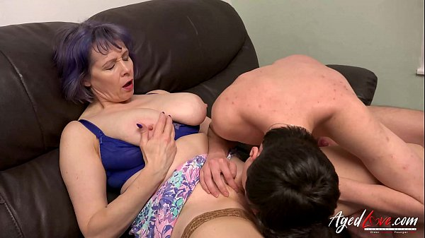 AgedLovE Busty Lady Hard Rough Mature Sex
