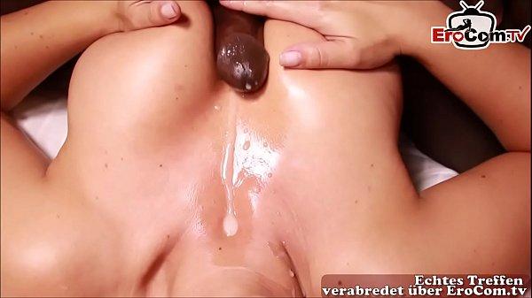 chubby redhead masturbiert bis zum orgasmus