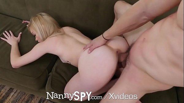 NANNYSPY Blonde nanny rises up the the challenge