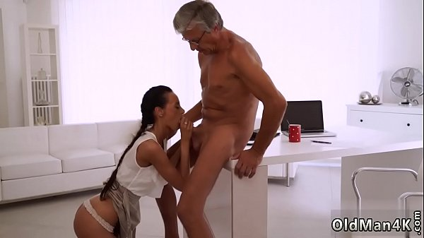 Teach me daddy Finally she's got her chief dick