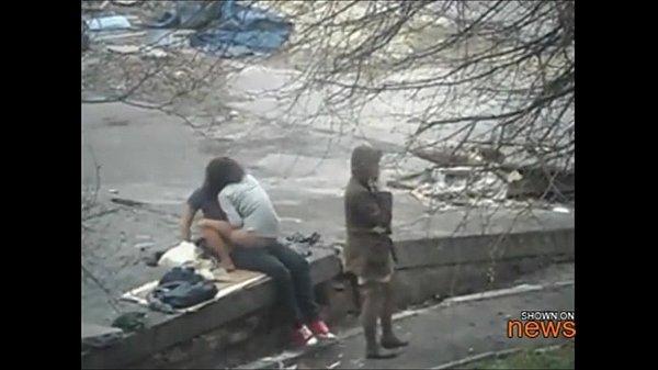 Порнослучайнона улице под камерув россии — pic 5