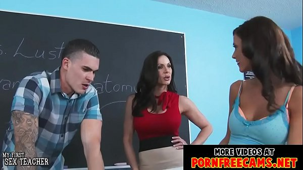 Sexy teachers KENDRA LUST and WHITNEY WESTGATE fucked by a student Thumb