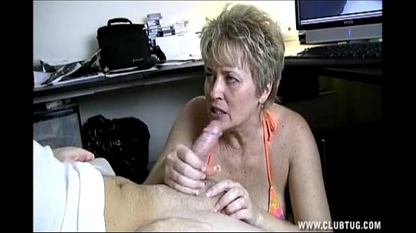 naughty shorthaired blonde milf with a dirty and cockhungry mouth