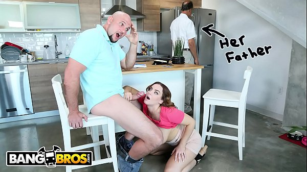 BANGBROS - Natasha Nice Tutors Jmac, With Her Mouth and Pussy, Behind Daddy's Back Thumb