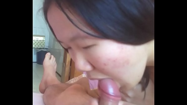 Ugly Chinese girl gave me a blowjob